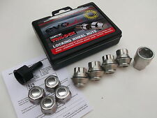 Evo Locking Wheel Nuts With Washer & Chrome Covers Alloy Wheels Only (PE1056)