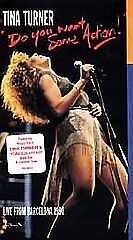 Tina Turner: Live from Barcelona 1990 (Do You Want Some Action) [VHS], Good VHS,
