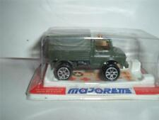 MAJORETTE MERCEDES BENZ UNIMOG IN ITS ORIGINAL PLASTIC BOX SCROLL DOWN 4 PHOTOS