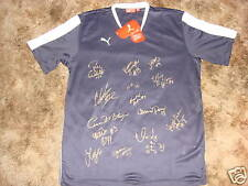 FC GOLD PRIDE SIGNED 2009 PUMA WPS SOCCER JERSEY