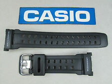 Genuine Casio G-Shock Mudman G-9000 G-9000-1 watch band strap black resin rubber