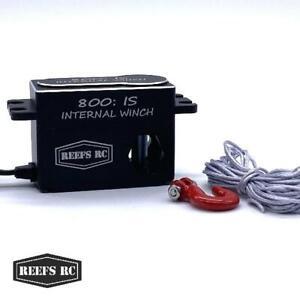 Reefs RC 800:IS 1/10 Internal Spool Servo Winch (Low Profile)