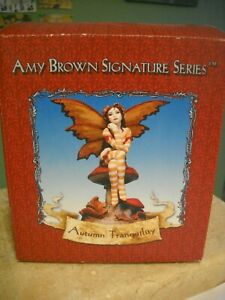 Amy Brown Signature Series Sculpture - Autumn Tranquility - Undisplayed