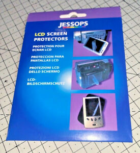 A brand new pack of THREE Jessops LCD Screen Protectors - excellent !