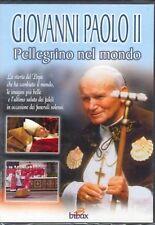 GIOVANNI PAOLO II - PELLEGRINO NEL MONDO   BIOGRAFIA DVD NUOVO