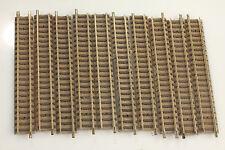 Fleischmann N piccolo 9101 10 appena binari 111mm sporco/carenze/smantellamento! f#65