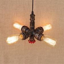 Retro E27 Wasserrohr Leuchte Lampe Vintage Industrial Pendelleuchte Hängeleuchte