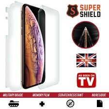 Screen Protector for Apple iPhone XS MAX Shield Full Invisible Case Skin 360