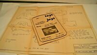 Vintage 1985 Toys and Joy's Catalog & Wooden Plans for VW Bug, Station Wagon +