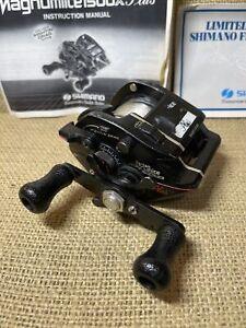 Shimano Bantam Magnumlite 1500X SG Plus Casting Fishing Reel Original Box, Nice.
