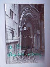AUTOGRAFO autograph RITA ORLANDI MALASPINA lirica soprano teatro Napoli foto
