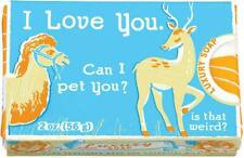 I LOVE YOU Blue Q Novelty Soap Funny Quirky Christmas Filler Cute Gift