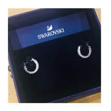 Swarovski original authorized earrings earring STONE 5446004 gift box silver