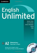 English Unlimited Elementary A and B Teacher's Pack (Teacher's Book with DVD-ROM