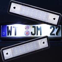 SET LED Kennzeichenbeleuchtung für OPEL Kennzeichenleuchten Nummernschild 71002