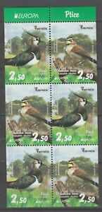 S36731 Bosnia Herzegovina Europa Cept MNH 2019 S/S From Booklet Bird Birds