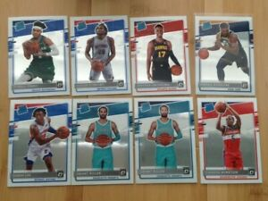 2020-21 Donruss Optic Basketball Rated Rookie Lot (8) Terry Riller Lee (TZ)