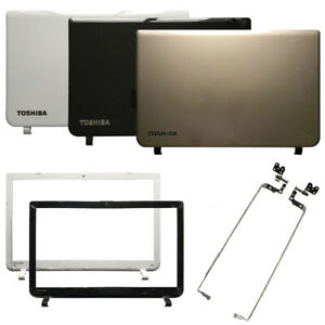 NEW FOR TOSHIBA SATELLITE L55-B L50-B LCD Back cover hinges Front Bezel B Cover