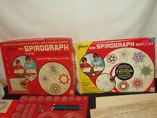1967 KENNER SPIROGRAPH ART SET COMPLETE #401 WT PENS & REFILL KIT