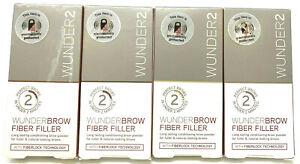 (2) Wunder2 Wunderbrow Fiber Filler New In Packaging YOU CHOOSE YOUR COLOR