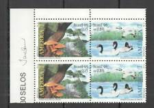 L1534 SALE 1995 BRAZIL FAUNA BIRDS DUCKS REPTILES CROCODILES UPAEP 2SET MNH