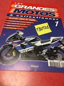 fascicule 1 GSX-R1000 GSX-R 1000 , Les Grandes motos à collectionner Altaya