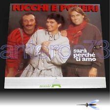 """RICCHI & POVERI """"SARA' PERCHE' TI AMO"""" RARO LP 1983 - SIGILLATO"""