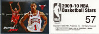 "RARE !! Sticker DERRICK ROSE ""NBA 2009-2010"" Panini"