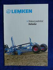Lemken Tschechien - Heliodor - Prospekt Brochure 02.2012  (0711