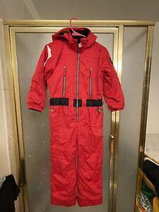 Obermeyer Kids Boy I Grow Red Ski Snowboard Suit Jacket Pant Set Size7 MSRP$225