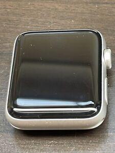 Apple Watch Series 3 - 42mm - Aluminum Case - Silver- GPS - IC Locked