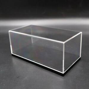 1/43 Model Cars Acrylic Case Display Box Show Transparent window DustProof 14cm
