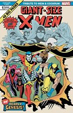 GIANT SIZE X-MEN TRIBUTE WEIN COCKRUM #1 MOORE VARIANT (30/09/2020)
