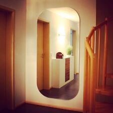 Moderner, schöner & großer Wandspiegel, rechteckig mit abgerundeten Ecken