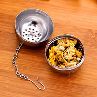Tea Infuser Ball Mesh Loose Leaf Herb Strainer Stainless Steel Secure Locking C