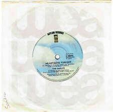 """THE EAGLES - HEARTACHE TONIGHT - 7"""" 45 VINYL RECORD - 1979"""
