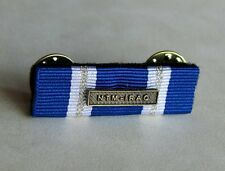 The NATO Non-Article 5 NTM-IRAQ Medal Undress Ribbon Bar