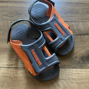 Havaianas Kids Sandals Size 2 Pool Water Play