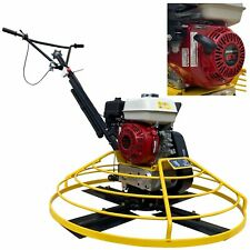 "HEAVY DUTY 36"" Honda Gx 160 Series Walk Behind Power Trowel Concrete Cement"