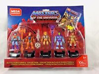Mega Construx - Masters Of The Universe - 5 Pack - Battle for Eternia Set - NEW