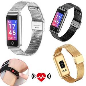 Fitness Tracker Bluetooth Smart Watch Heart Rate Wristwatch for Women Lady Gift