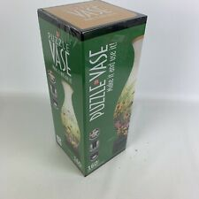 Puzzle vase 160 piece 3-D jigsaw Paul Lamb and games with stand BNIB