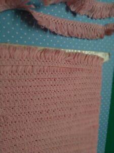 Beau Galon Rose Tendre Fabrication Vêtements Poupée 1950 👗+de 400 cm x 2  cm