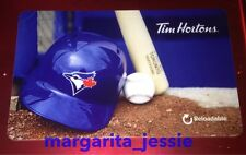 "TIM HORTONS CANADA 2016 GIFT CARD ""TORONTO BLUE JAYS"" NO VALUE #6125 NEW FD51902"