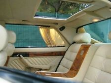 Mercedes w126 sonderausstattung gardinen vorhäng curtain rideau AMG Helios