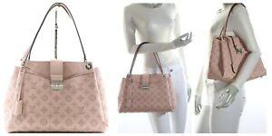 Louis Vuitton Mahina Sevres Tote Leather Bag Magnolia