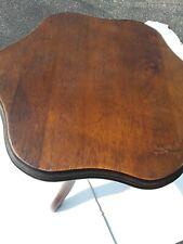 $70 Down! 18th Century, Affordable, Chippendale Tilt-Top Tripod Pedestal Tables