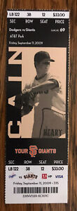 Buster Posey MLB Debut Ticket - Full Season-Style Ticket - Future HoFer - Giants
