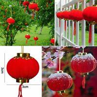 30pcs Chinese New Year Red Lanterns Hanging Home Celebration Party Decoration UK