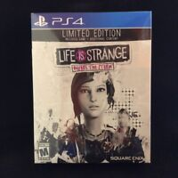 Life is Strange: Before the Storm Limited Edition (PlayStation 4) BRAND NEW BOX